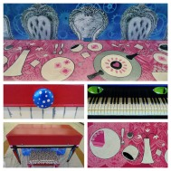 Alice in Wonderland Piano - Closed