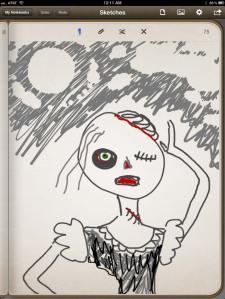Heather Carr iPad Penultimate doodle