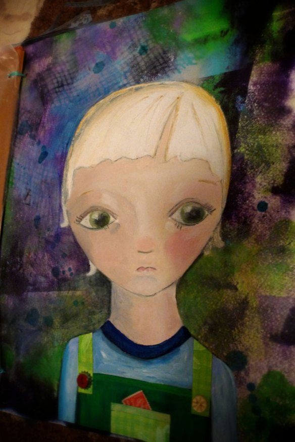 Heather Carr Child painting 2010