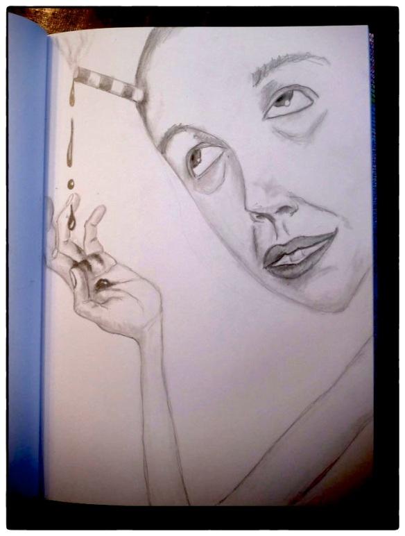 Heather Carr sketch sketchbook 2012 pencil drawing art