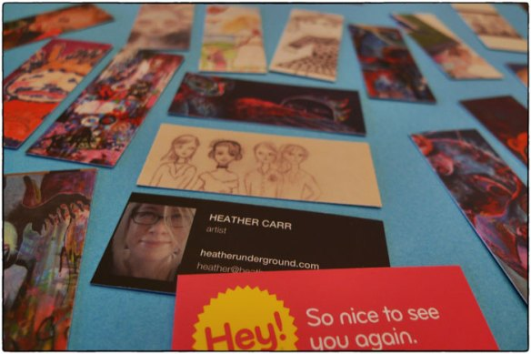 Heather Carr 2012 moo cards