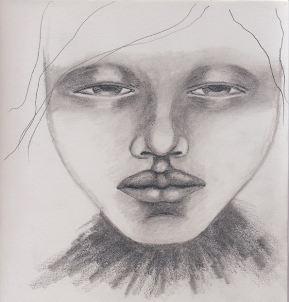 Heather Carr pencil sketch 2012