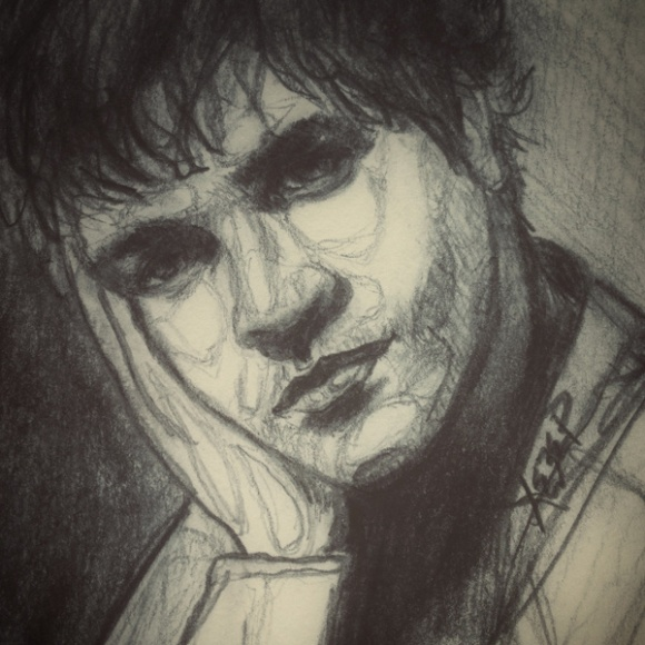pencil sketch portrait heather carr