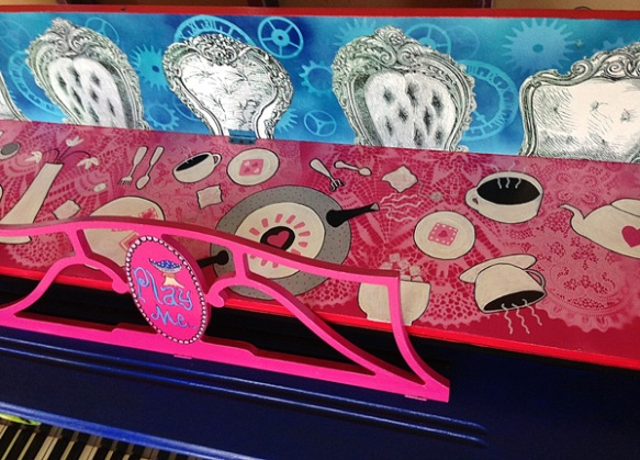 Heather Carr Alice in Wonderland Piano Mad Tea Party