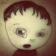 charcoal, sketch, boy, oh no