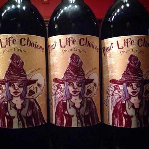 wine bottle heather carr