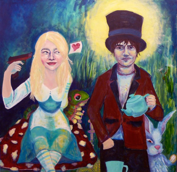 Alice in Wonderland, work in progress, Mad Hatter